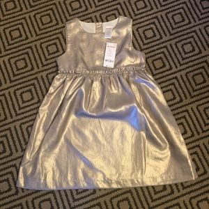 NWT Gymboree gold dress